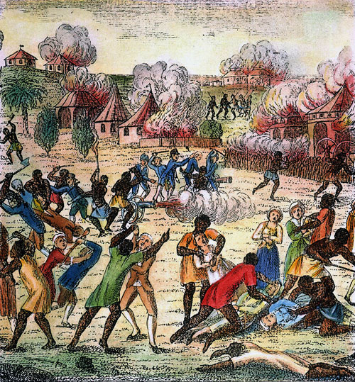 justified haitian slave revolt
