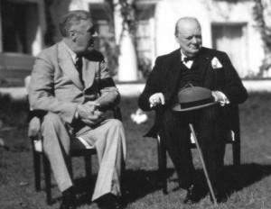 Roosevelt and ChurchilBWl
